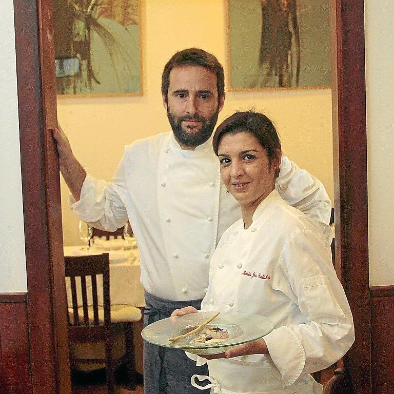 Alberto Serrano y María José Calabria